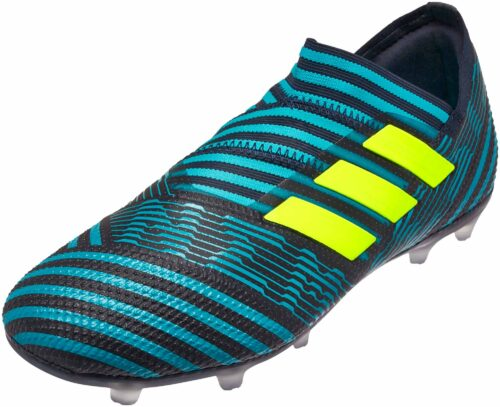 adidas Kids Nemeziz 17  360Agility FG – Legend Ink/Solar Yellow