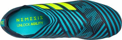 adidas Kids Nemeziz 17  360Agility FG – Legend Ink/Solar Yellow