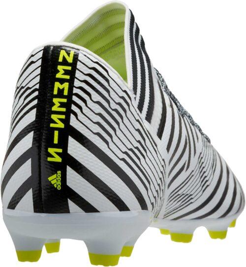 adidas Kids Nemeziz 17.3 FG – White/Solar Yellow