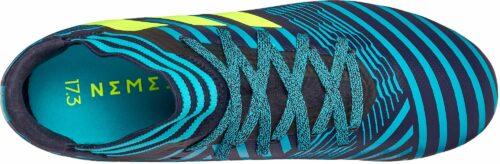 adidas Kids Nemeziz 17.3 FG – Legend Ink/Solar Yellow