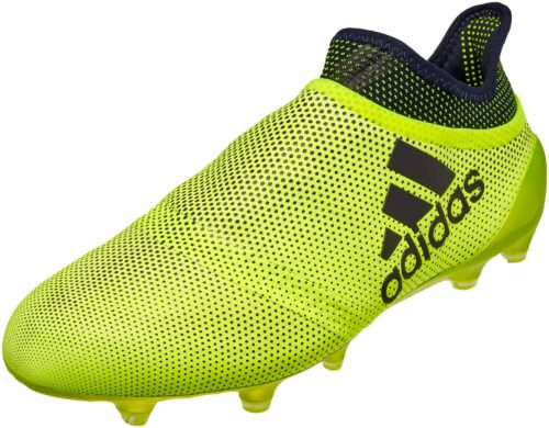 adidas X 17+ PureSpeed FG – Solar Yellow/Legend Ink