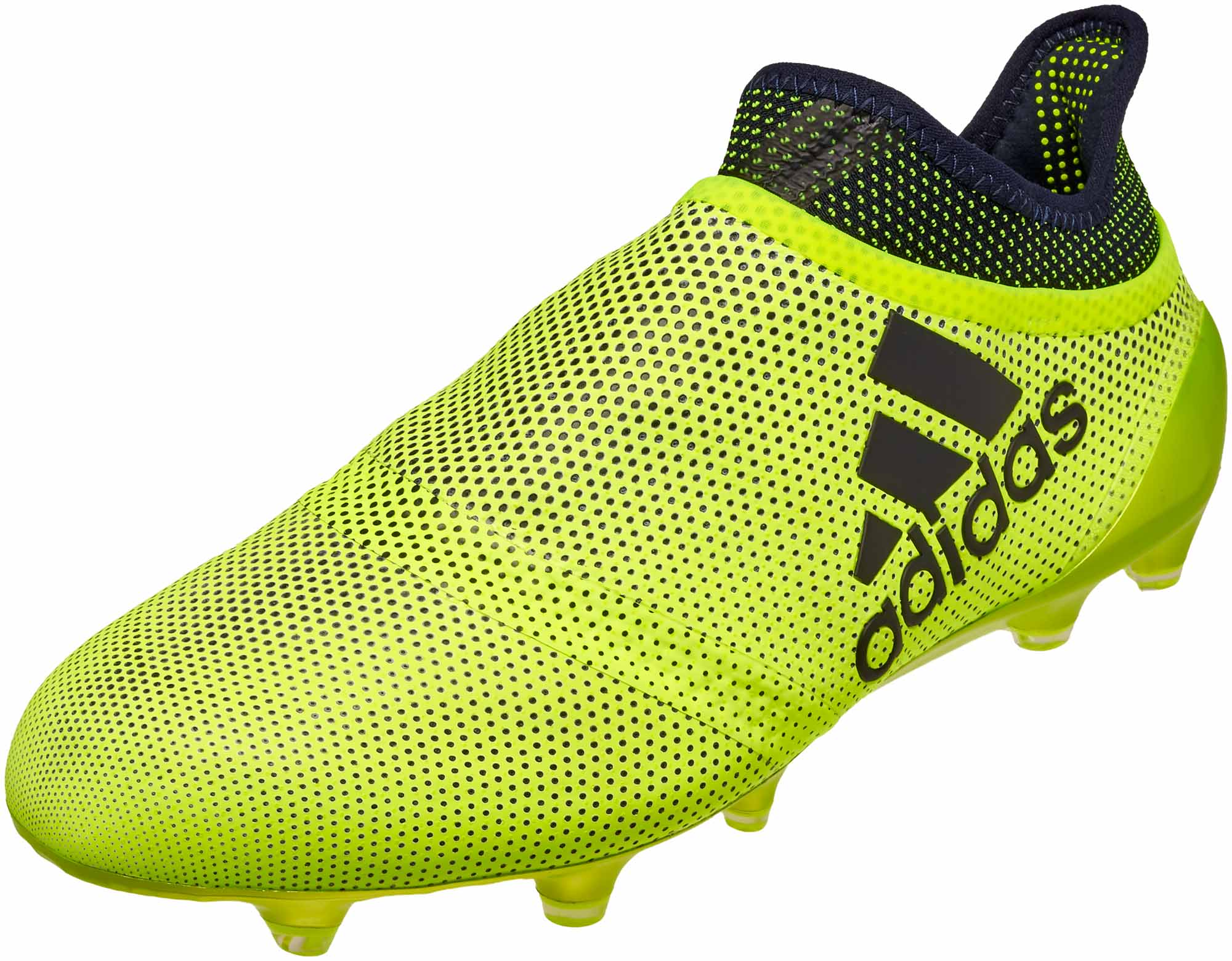 8490c324b adidas X 17 PureSpeed FG - Solar Yellow & Legend Ink