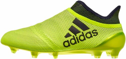 adidas X 17  PureSpeed FG – Solar Yellow/Legend Ink