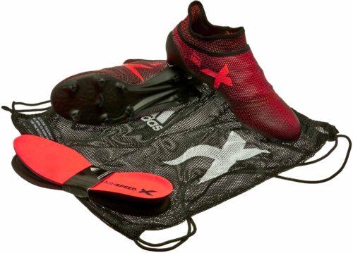 adidas X 17  PureSpeed FG – Core Black/Solar Red
