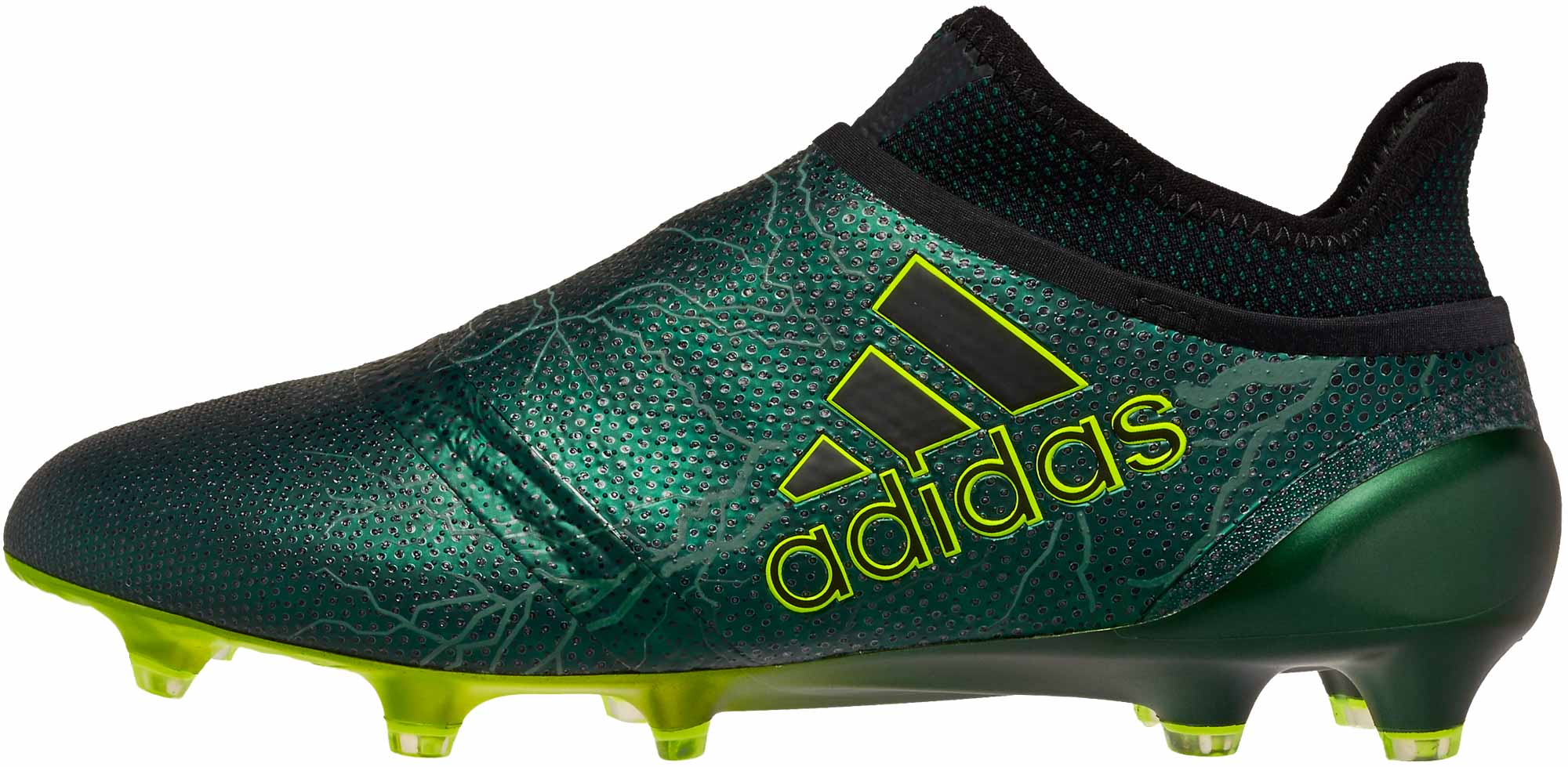 adidas X 17 PureSpeed FG - Black   Solar Yellow - SoccerPro.com ada5027d2ae0c
