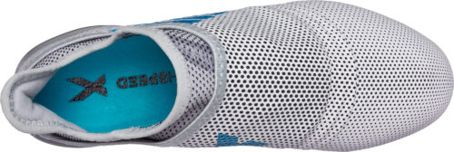 adidas Kids X 17  PureSpeed FG – White/Energy Blue