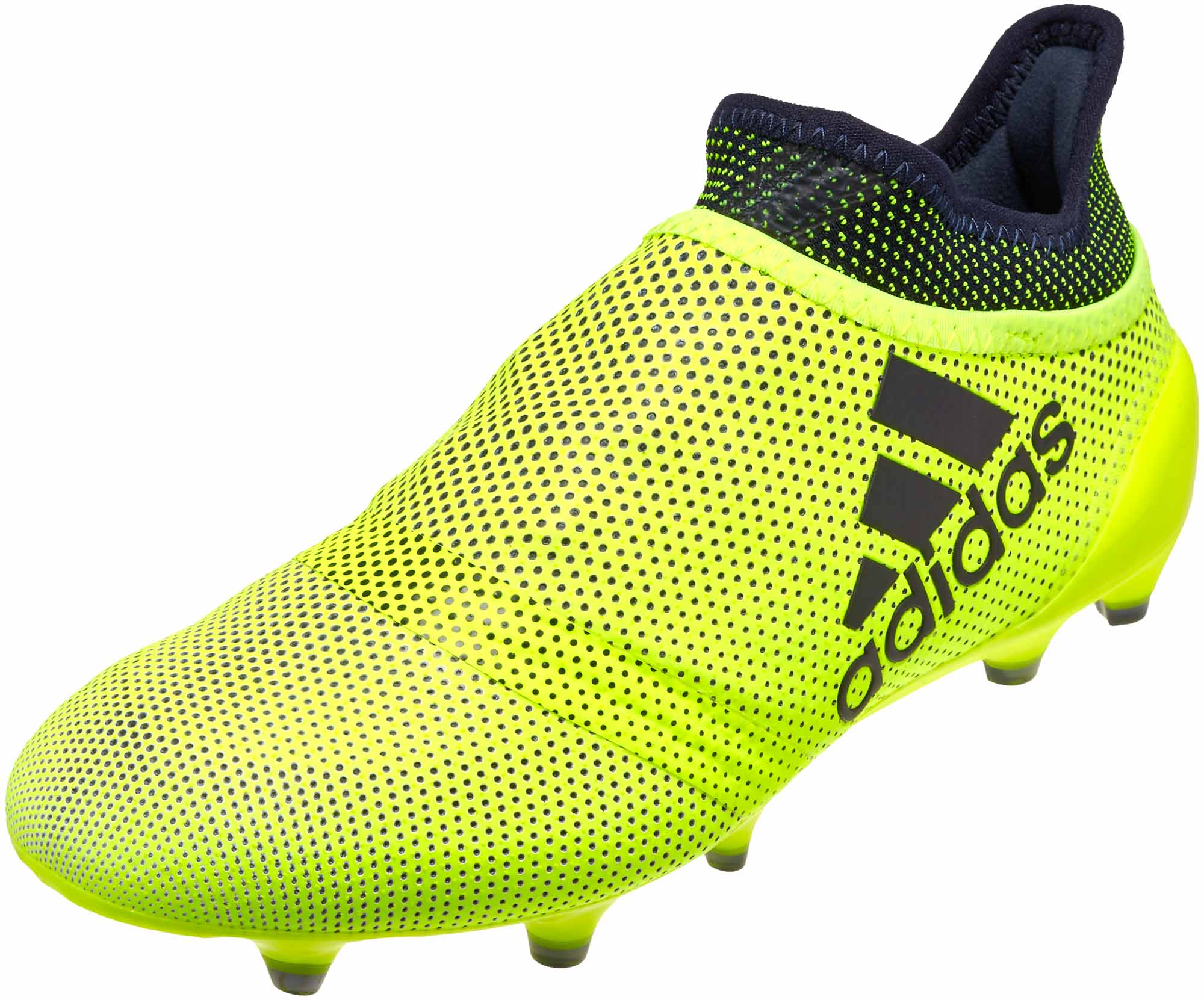 new arrival bcd00 636e3 adidas Kids X 17 PureSpeed FG – Solar Yellow/Legend Ink