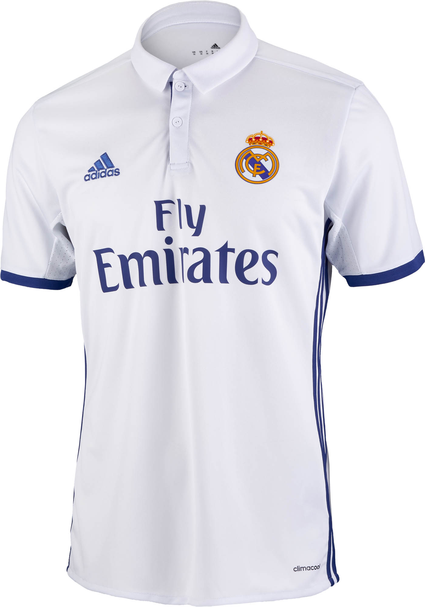 47ee5bf4d adidas Real Madrid Jersey - 2016 17 Real Madrid Home Jerseys
