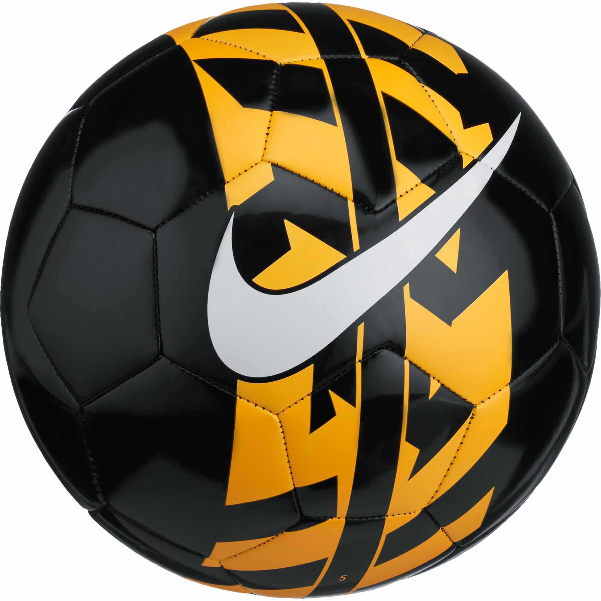 Nike React Soccer Ball - Black Nike Soccer Balls