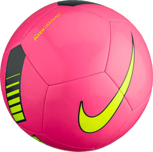 Nike Pitch Training Soccer Ball – Hyper Pink/Black
