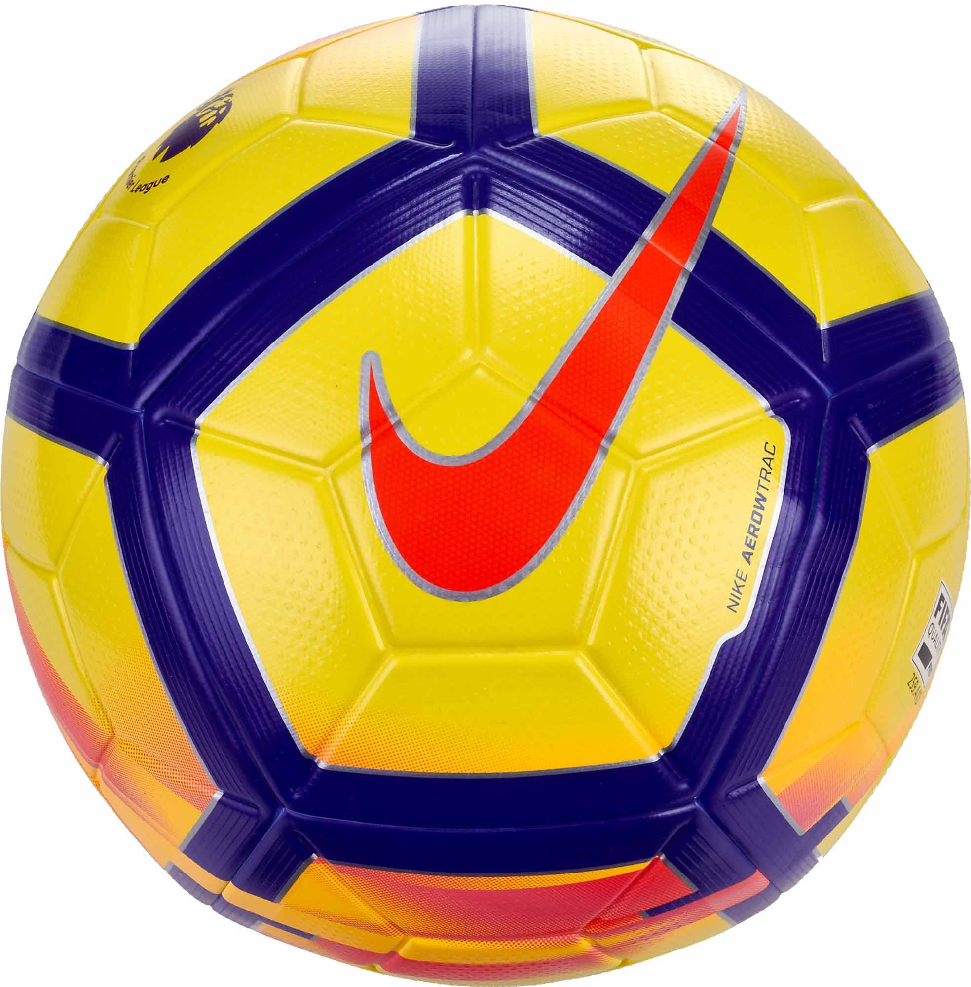 purchase cheap 0a81f ee6a9 Nike Ordem V Hi-vis Match Ball – Premier League – Yellow Crimson