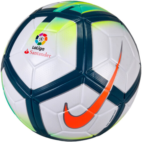 Nike Ordem V Match Ball – La Liga – White/Turquoise