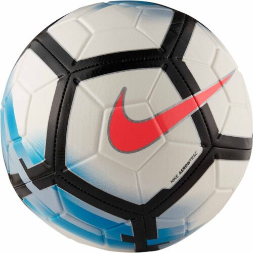 Nike Strike Soccer Ball – White/Blue Orbit