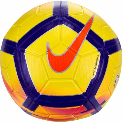 Nike Magia Hi-vis Soccer Ball – Yellow/Crimson