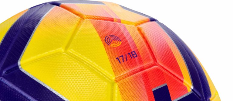 Nike Magia Hi-vis Soccer Ball – Yellow/Crimson