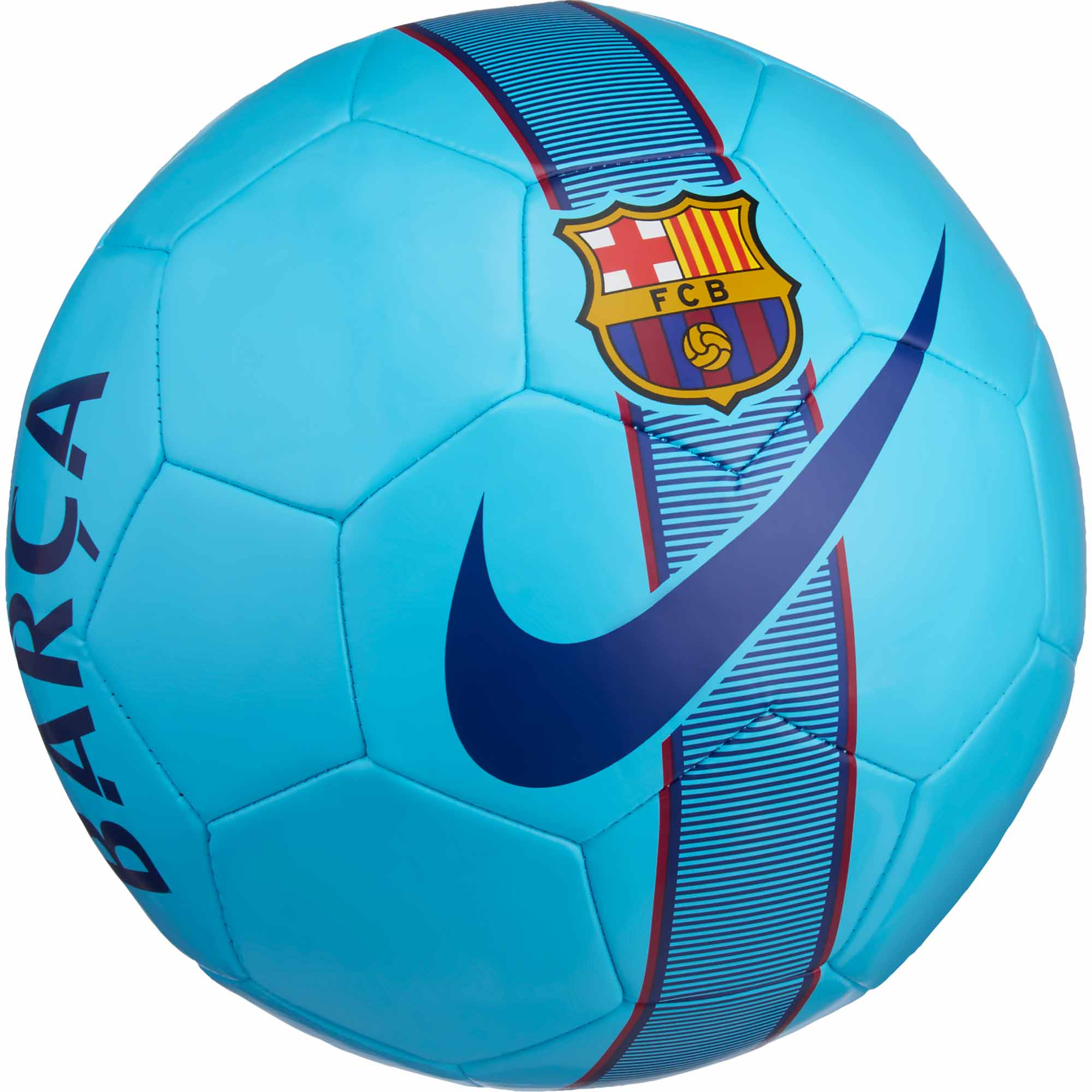 Nike Barcelona Supporters Soccer Ball- Nike Soccer Ball
