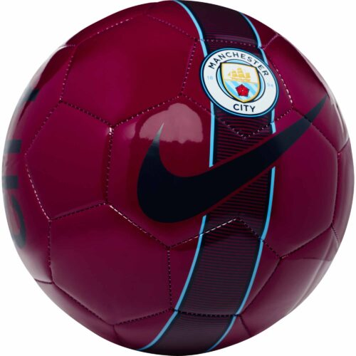 Nike Manchester City Supporters Soccer Ball – True Berry/Midnight Navy