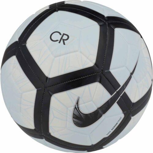 Nike CR7 Prestige Soccer Ball – White/Black