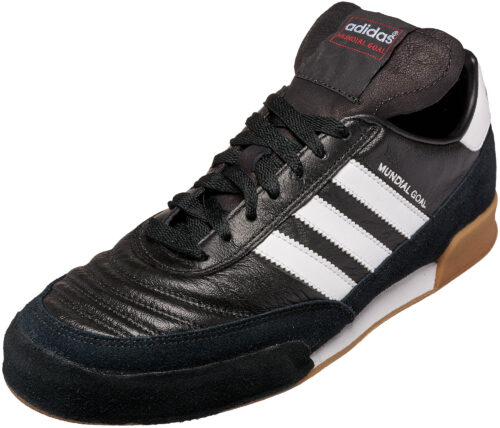 adidas Mundial Goal Indoor Soccer Shoes  Black/White