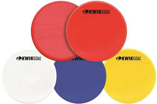 KwikGoal Flat Round Marker (10 pack)