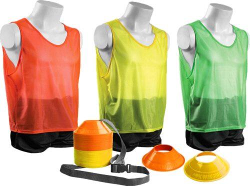 KwikGoal Mini Cone/Vest Kit