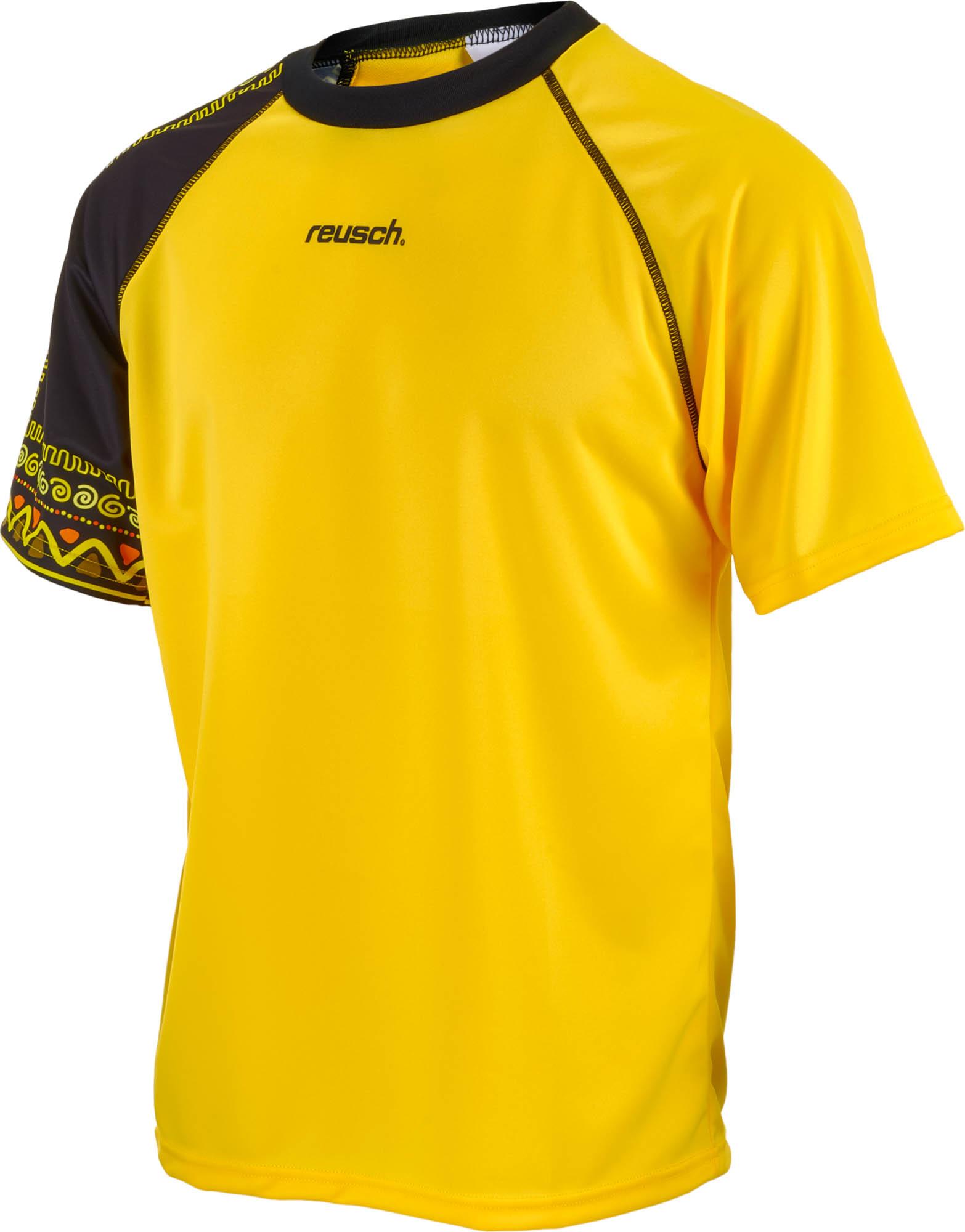 bc26603a6 Reusch Aztec Goalkeeper Jersey - Yellow Soccer Keeper Jerseys