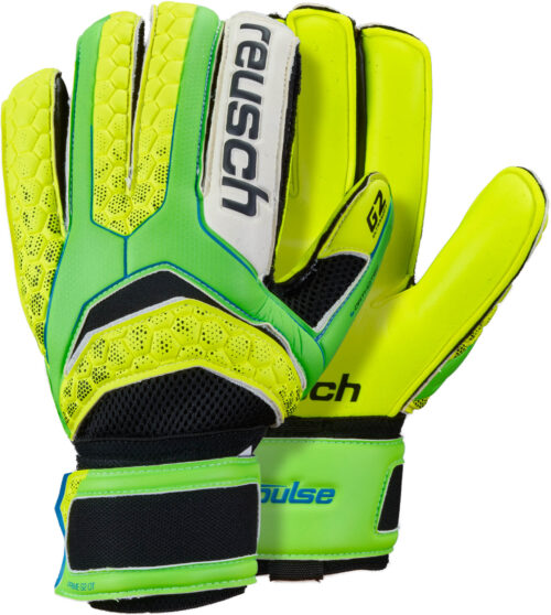 Reusch Pulse Prime G2 Ortho-Tec – Green Gecko/Safety Yellow