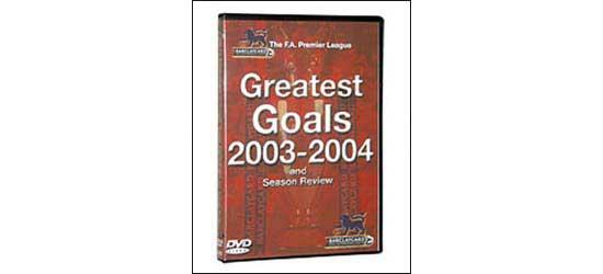 English Premier League Review Goals Of The Season 200304 image