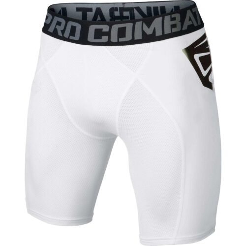 Nike Pro Combat Ultralight Slider Shorts – White