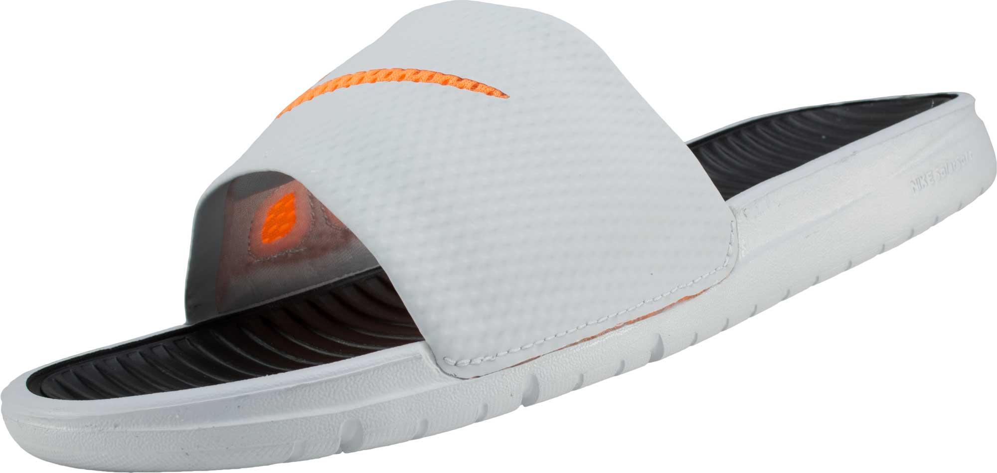 fd9ffed69a74 Nike Soccer Sandals - Nike Benassi Solarsoft Slides