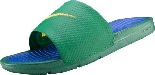 Nike Benassi Solarsoft Slide – Pine Green/Royal