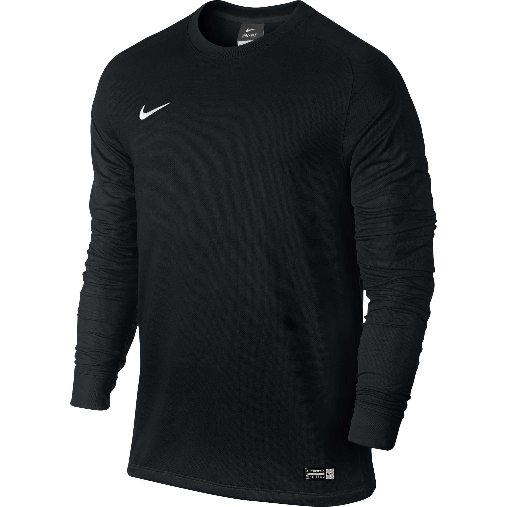 450533d72 Nike Park II Goalkeeper Jersey - Black Goalie Jerseys