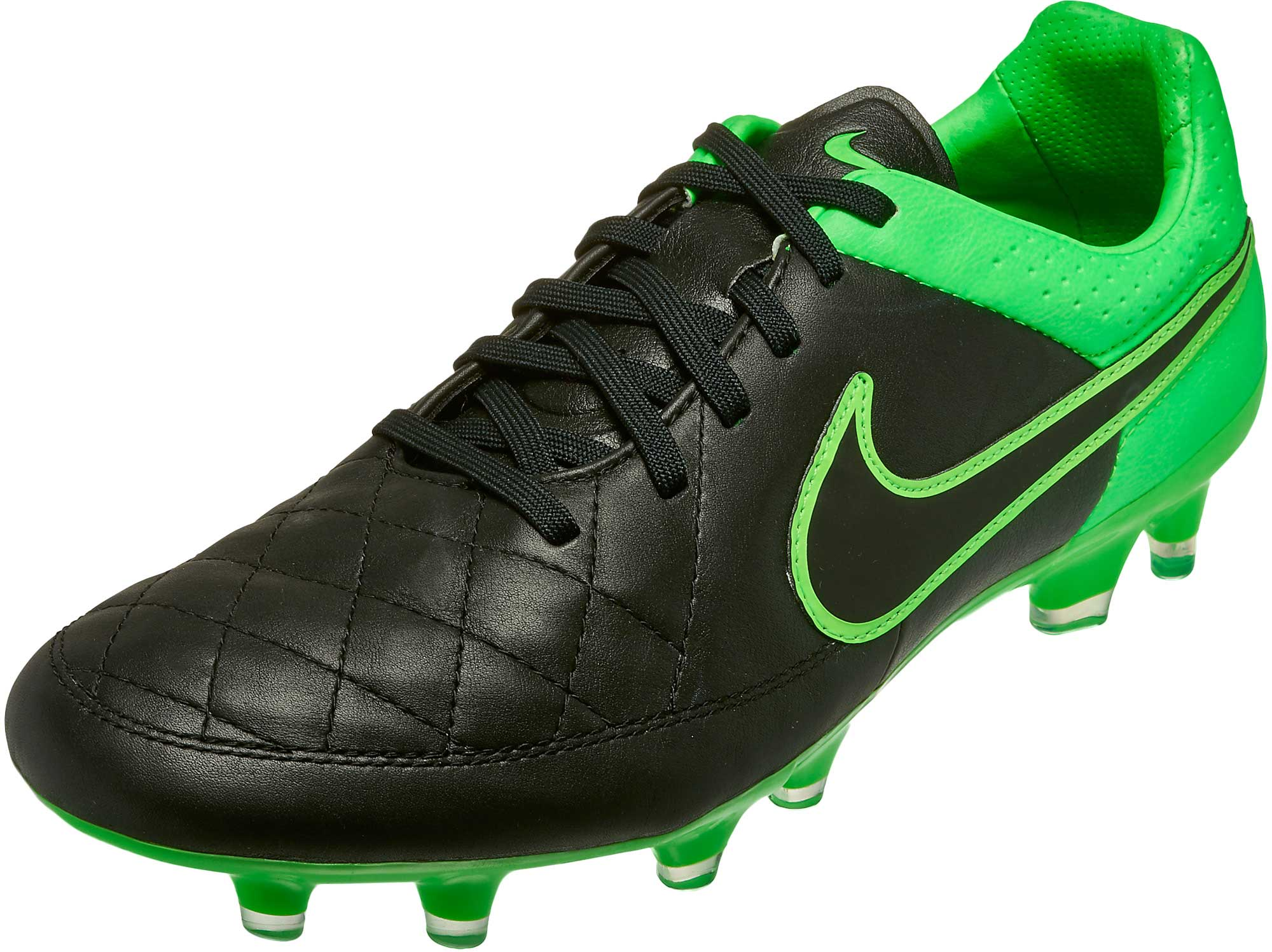 f979a6cb6 Nike Tiempo Legend V FG Soccer Cleats – Black Green