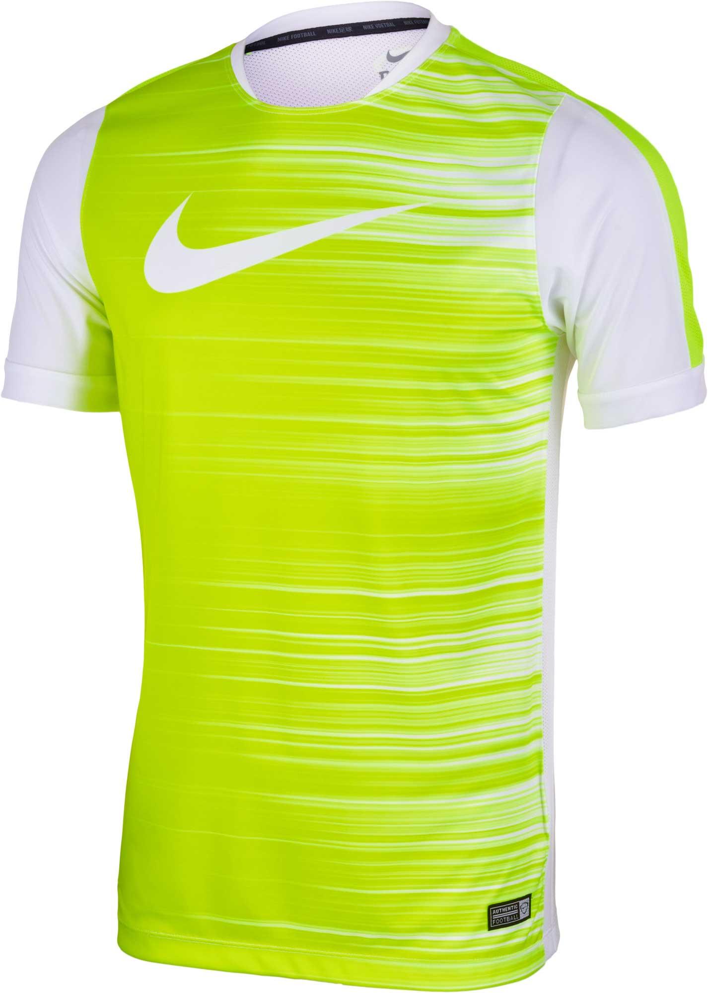 Nike GPX Flash Top II - White Nike Soccer T-Shirt 4ec361f83