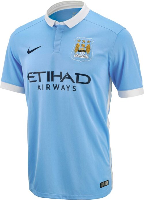 Nike Kids Manchester City Home Jersey 2015-16