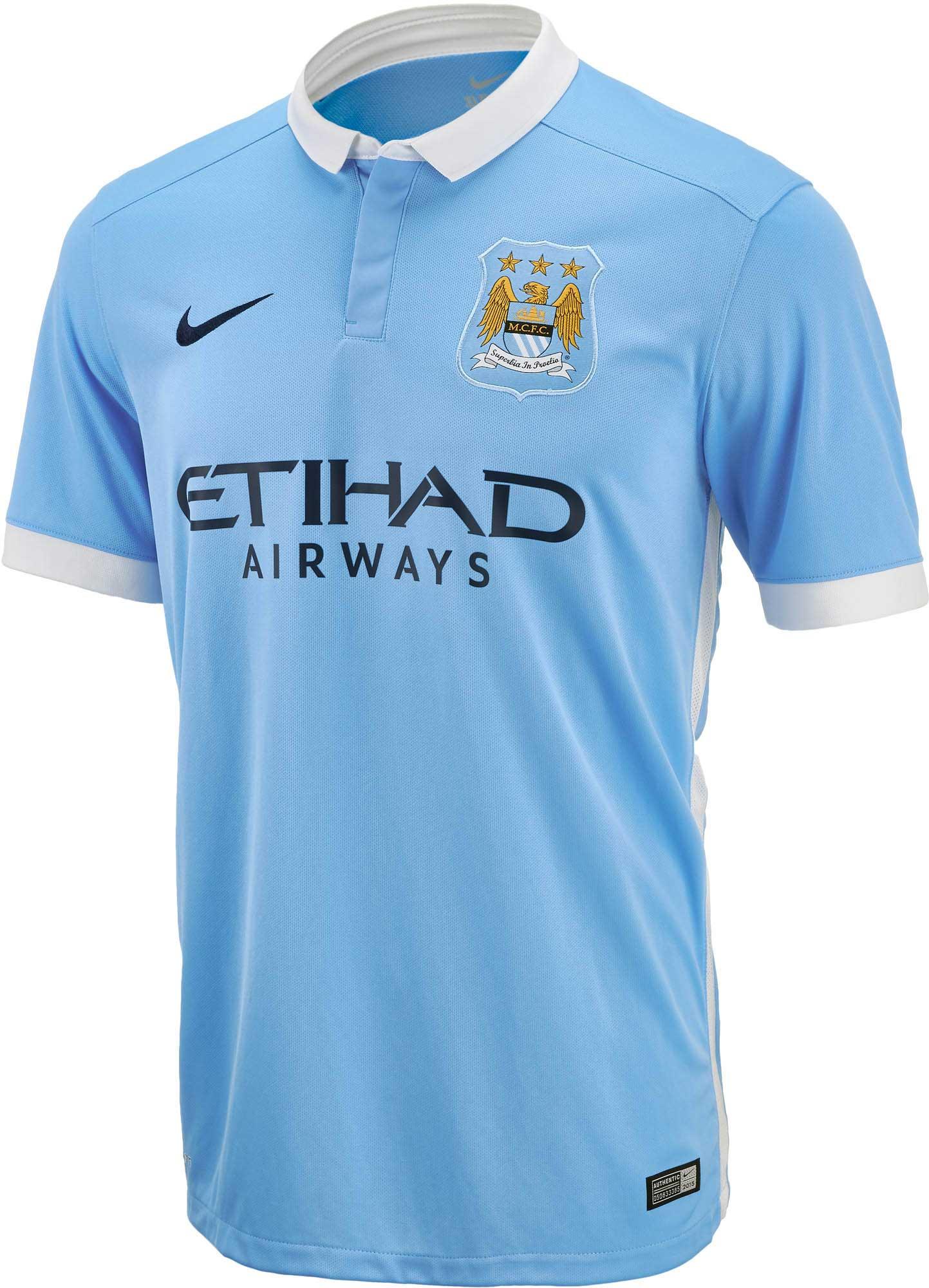 9c10d4510 Kids Nike Manchester City Jersey - 2015 16 Youth Man City Home Jerseys