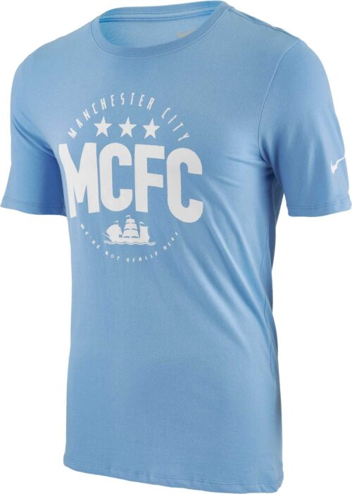 Nike Manchester City Core Plus Tee – Blue