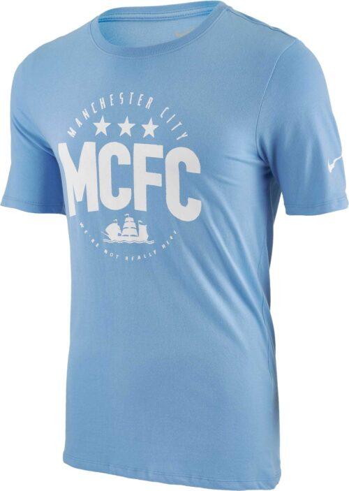 Nike Manchester City Core Plus Tee – Blue