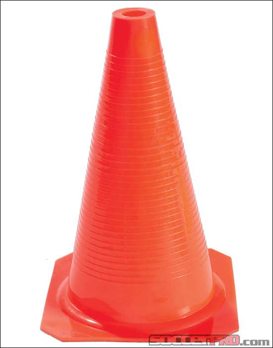 KwikGoal 9inch Orange Practice Cones (12 Pack)