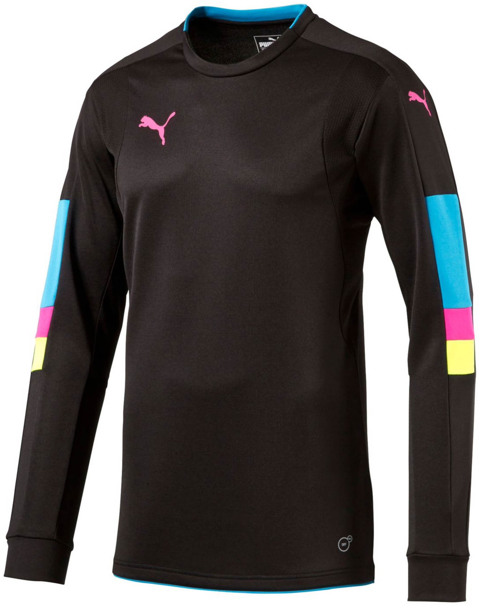 de97491e539 Puma Tournament Goalie Jersey - Black Goalkeeper Jersey