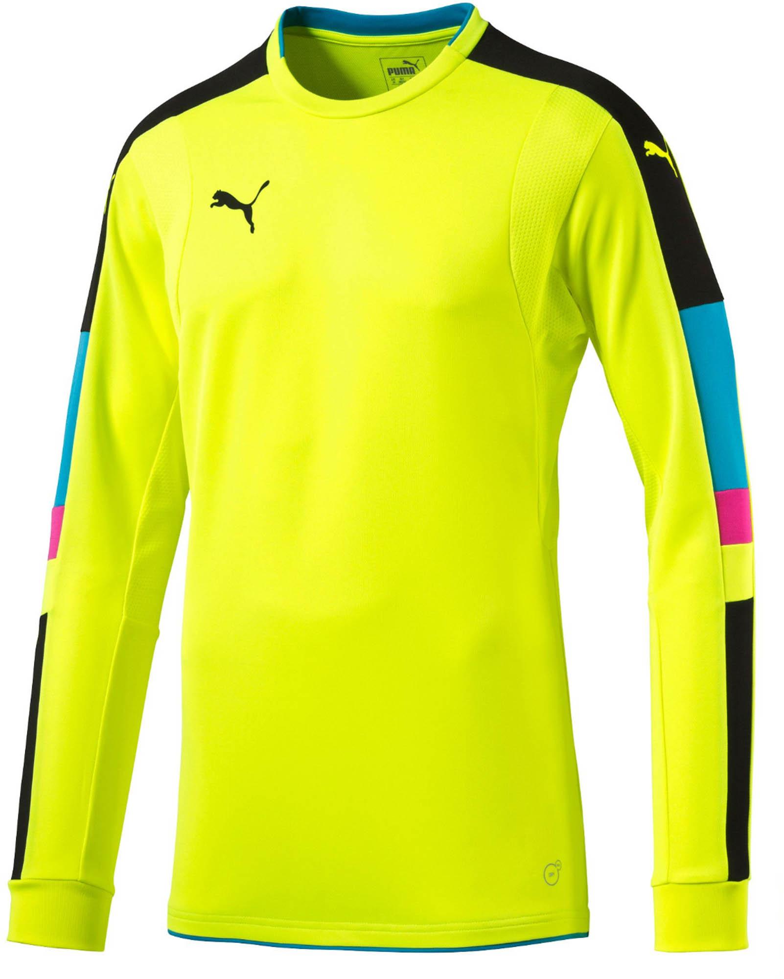 b957cdeb5 Puma Tournament Goalie Jersey- Yellow Goalkeeper Jersey