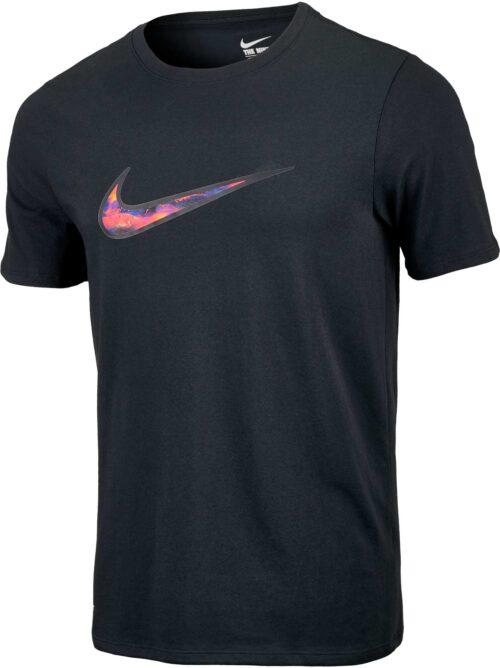 Nike CR7 Lava Swoosh Tee – Black
