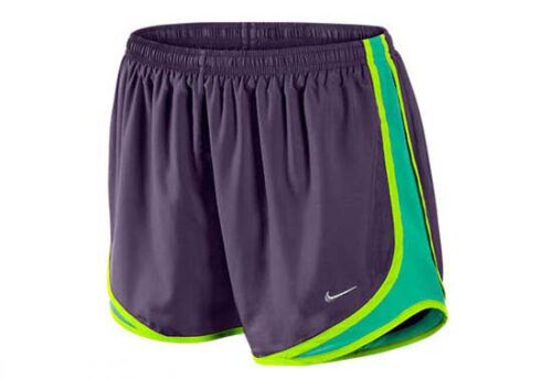 Nike Womens Tempo Short  Grand Purple/Volt