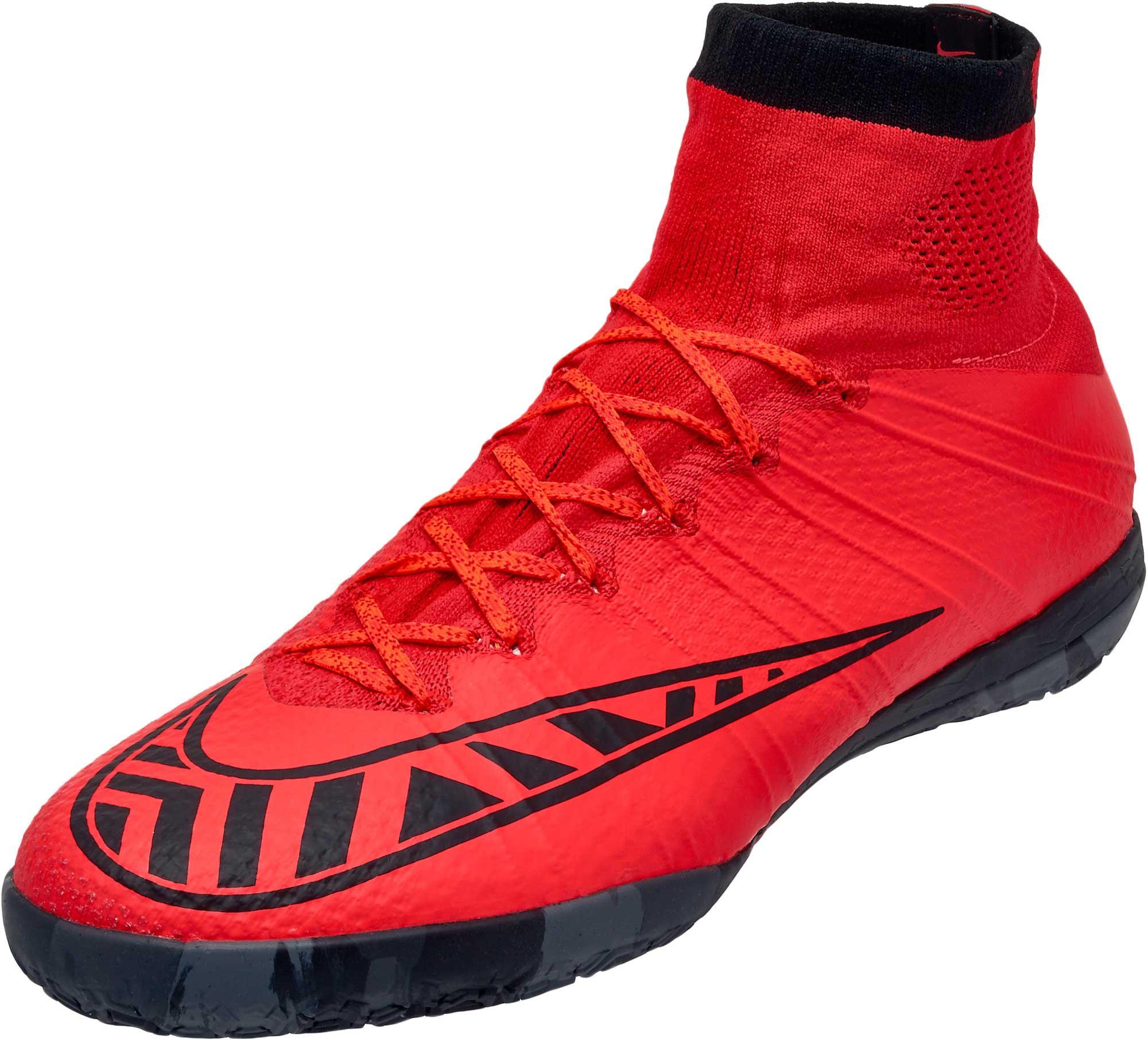 official photos 229c1 d7728 Nike MercurialX Proximo Indoor Shoes – Bright Crimson Hot Lava