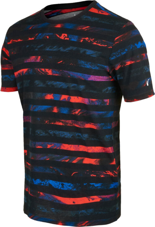 Nike CR7 Striped Tee – Black/White