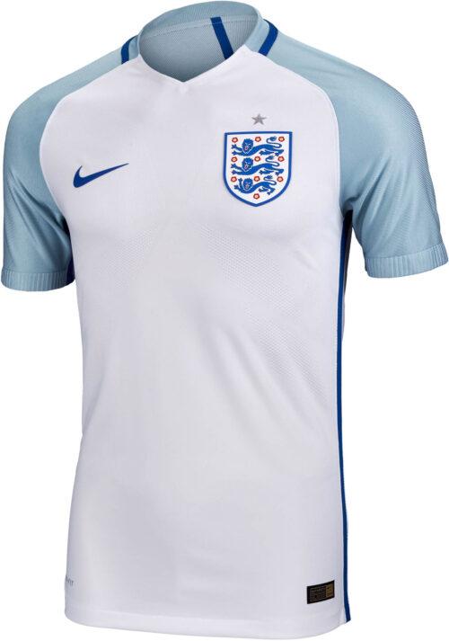 Nike England Home Match Jersey 2016