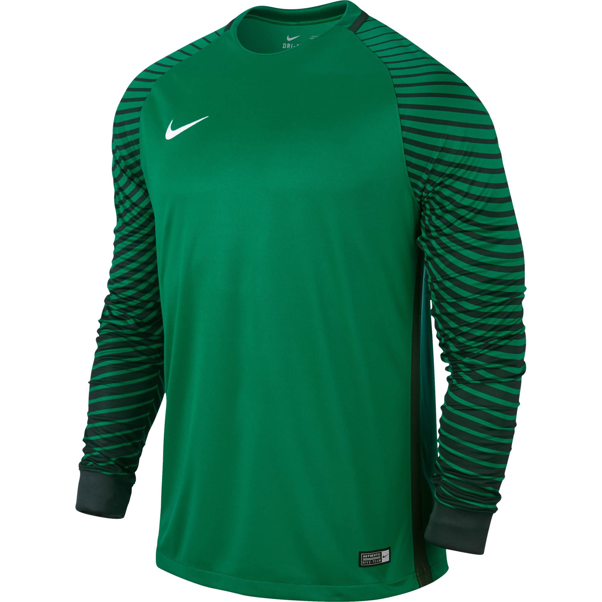 Nike Gardien Goalie Jersey - Green Goalkeeper Jerseys