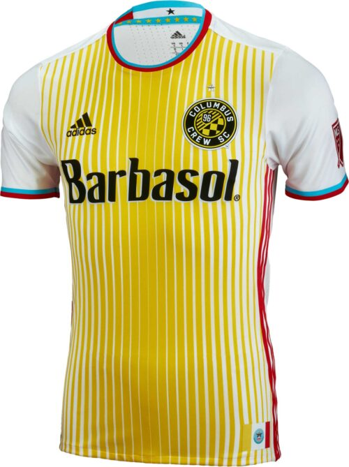 adidas Columbus Crew Authentic Away Jersey 2015-16