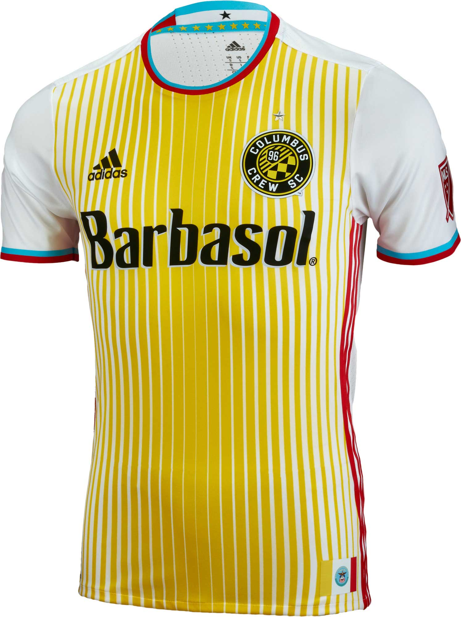 9caad1fc402 adidas Columbus Crew Away Jersey - 2016 Crew Soccer Jerseys