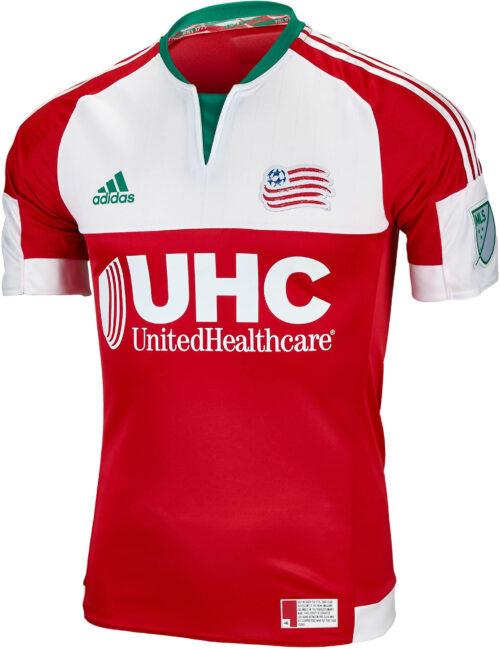 adidas New England Revolution Authentic Away Jersey 2016